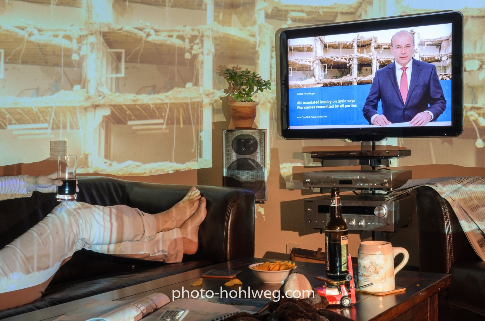 Conflict Zone Living Room -